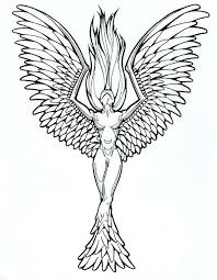 Phoenix Drawing Color At Getdrawings Com Free For Personal Use