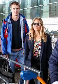 Sienna miller and bennett miller were spotted at the us open. Sienna Miller 37 And Boyfriend Lucas Zwirner 28 Enjoy Their First Trip Overseas Daily Mail Online