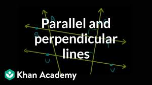 Powerpoint Org Chart Lines Not Straight Parallel Perpendicular Lines Basic Geometry Video