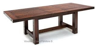 expandable distressed harvest table
