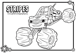 Blaze And The Monster Machines Coloring Pages - GetColoringPages.com
