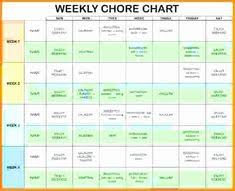 24 Best Roommate Chore Charts Images Roommate Chore Chart