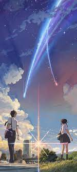 Your Name phone wallpaper, edited for ...