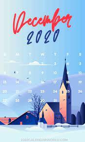 Special December 2020 Calendar ...