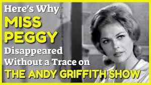 Why Did Miss Peggy Vanish from The Andy Griffith Show? - YouTube