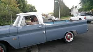 1966 Chevy c10 long bed big window. - YouTube
