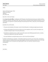 Sample Security Officer Cover Letter 3 Tips To Write Cover Letter