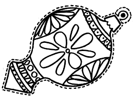 Small Picture Christmas Ornaments Coloring Pages Coloring Coloring Pages