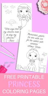 For kids & adults you can print princess or color online. Princess Printable Coloring Pages Just What We Eat
