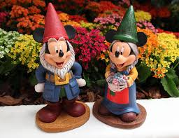 first look at 2016 epcot international flower and garden festival mickey and minnie garden statues
