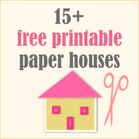 christmas house template 17 free printable diy paper houses free lantern houses