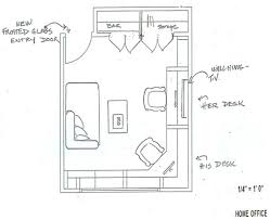 home office plan. Perfect Plan Home Office Remodel Floor Plan On