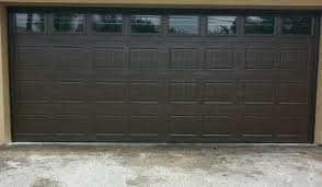 dark brown garage doorsGALLERY  Garage Door Solutions Miami