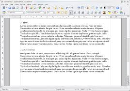 Openoffice Org Tip Automatically Number Headings Fosswire