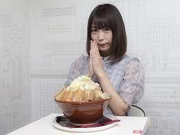 中澤 莉佳子 大 食い