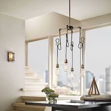 home office lighting fixtures. Pipes Pendant Light With Dangling Cable For Industrial Accent Home Office Lighting Fixtures F
