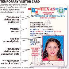 License Texas Restriction Drivers Lofs B