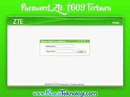 Untuk pengguna indihome dengan modem zte. Kumpulan Password Username Modem Zte F609 Indihome 2020 Terbaru Kaca Teknologi