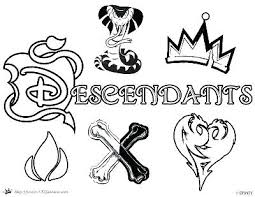 Descendants 2 Coloring Pages Mal Descendants Coloring Pages Google