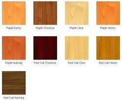 maple wood color kitchen cabinet colors types schemes with r1 wood