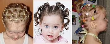 Baby Krásne účesy Pre Dievčatá S Vlastnými Rukami Detské účesy Pre