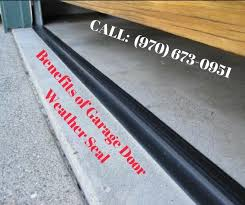 all you need to know about garage door weather seal