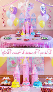 Princess Party Decoration Diy Princess Party Favors Theme Diy Princess Party Decoration