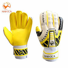 Kids Professional <b>Goalkeeper Gloves Football</b> Finger Protection ...