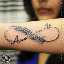 тату бесконечность и перо значение значение татуировки