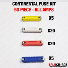 50 piece kit ceramic continental car fuse torpedo bullet classic image is loading 50 piece kit ceramic continental car fuse torpedo