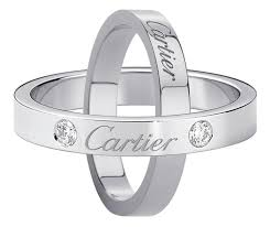 cartier wedding rings. Cartier Wedding rings engraved with Cartier Wedding ring