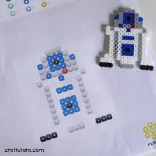 Star Wars Perler Bead Patterns Best Star Wars Perler Bead Designs Craftulate