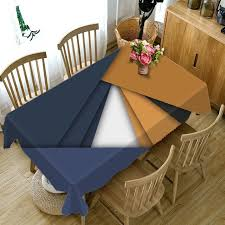 europe geometric tablecloth waterproof dinner party coffee round rectangular table cloth home decorative table cover pillowcase