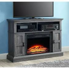 entertainment console with electric fireplace premium oak media console electric fireplace cabinet