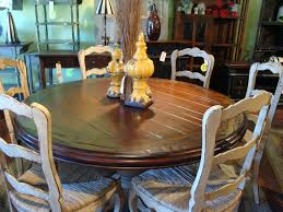 60 round hand carved pedestal dining table french country french country dining room table and chairs