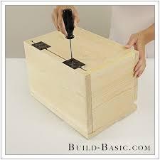 build a diy card box building plans by buildbasic build basic
