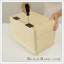 build a diy card box building plans by buildbasic build basic