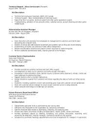 Customer Service Representative Job Description Resume Best Of Duties Of A Customer Service Mycola