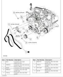 how to change the serpentine belt tensioner and idler pullies on from the ford service manual belt routing torque specs and pulley locations
