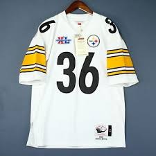 Jersey Bettis About Steelers Details Authentic 100 Ness Xl Nfl Mitchell 48 amp; Jerome Size