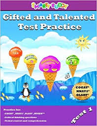 amazon gifted and talented test practice volume 1 9781978136434 smarty buddy llc books