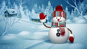 Holidays Snowman Christmas Snowman Greeting Card Winter Stock Footage Video 100