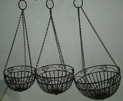 metal plant hanging basket