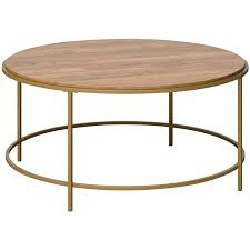 sauder international lux 36 round wood