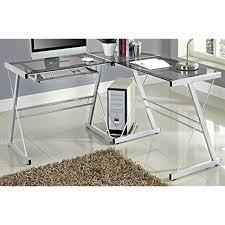 glass corner desks glass corner desks home office