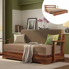 designs of bedroom furniture. Mahim Sofa Cum Bed (Two Tone Brown, Without Storage Arm) Designs Of Bedroom Furniture D