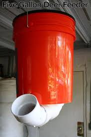 did you know you can build your own deer feeder out of a five gallon bucket this is a great option for anyone interested in hunting in the outdoors
