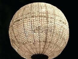 sphere chandelier large round wood light fixture
