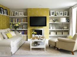 Awesome Shelf Living Room Ideas Living Room Book Shelf Ideas With Light  Golden Wall Accent Living