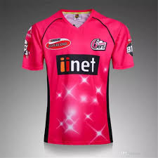 Cricket Shirts Design 2019 2019 2018 Sydney Thunder Cricket Jersey 17 18 Top Thailand Quality Gentlemans Game Sydney Sixers Shirts Jerseys S 2xl From Allsoccer 24 37